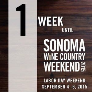 Sonoma County Wine Country Weekend