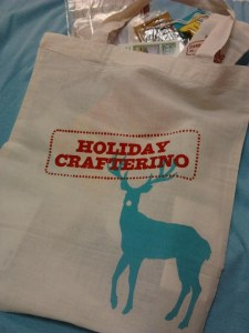 Holiday Crafterino Bag