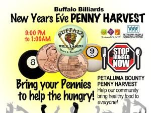 Buffalo Billiards New Years Eve Penny Harvest