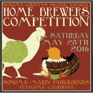 Sonoma County Home Brewers Competition 2016