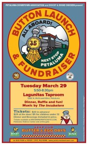 Petaluma Butter & Egg Days Parade Button Launch