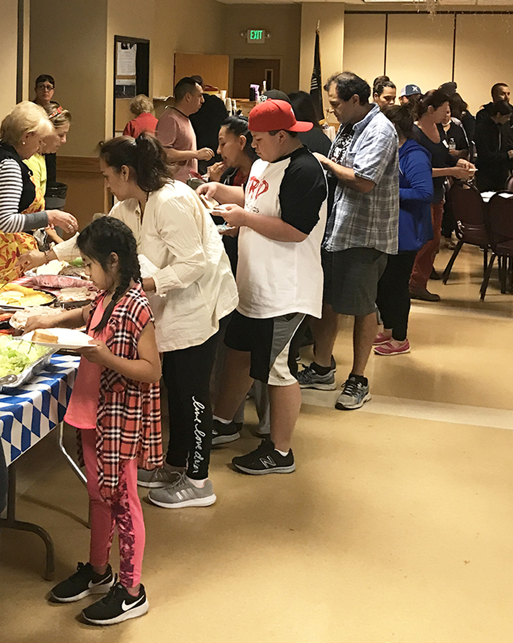 Petaluma Elks and Calvary Church working together to support fire victims
