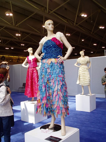 Condom Dresses by Adriana Bertini