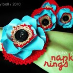 Coke Can Flower Napkin Rings