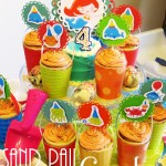 Sand Pail Cupcakes + Cupcake Topper Tutorial