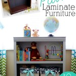 Painted Laminate Nursery Bookshelf