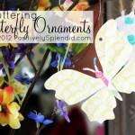 Fluttering Butterfly Ornaments