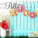 Chalkboard Picket Fence Pallet Tutorial