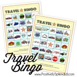Travel Bingo Game (Free Printables!)