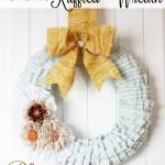 Romantic Ruffled Wreath Tutorial