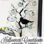 Halloween Countdown Tree (Trick or Tree)