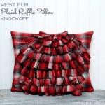 Plaid-Ruffle-Pillow1