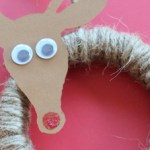 Embroidery Hoop Rudolph Ornament (Swell Noël #6)