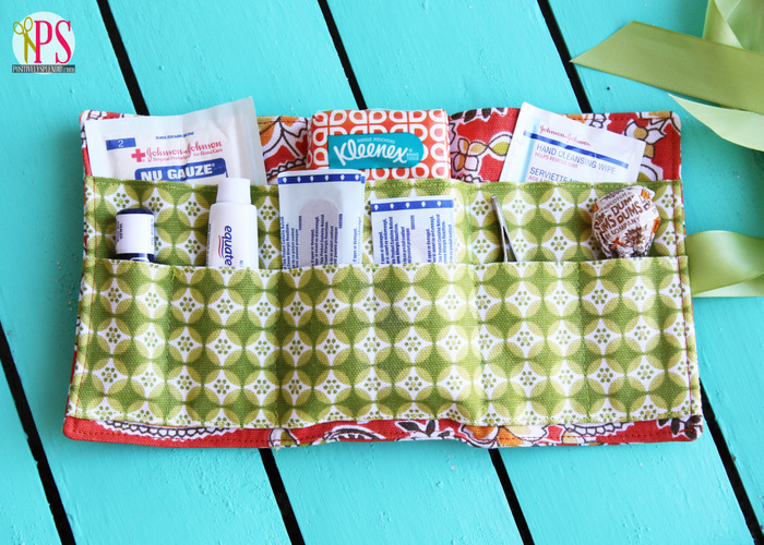 Handmade Portable First Aid Kit Roll Tutorial