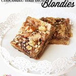 Chocolate-Marbled Blondies