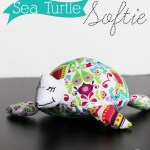 Sea Turtle Softie Pattern and Tutorial