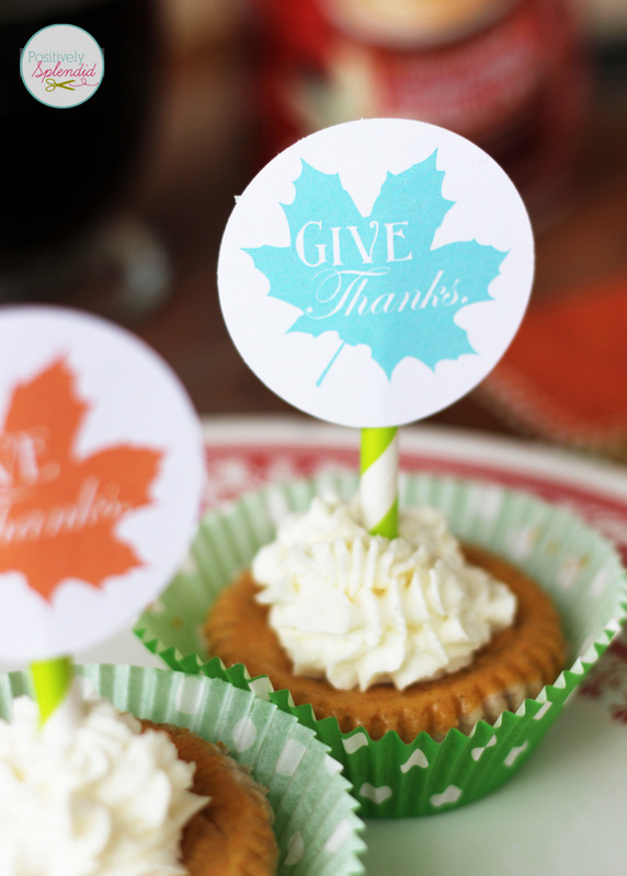 Vanilla-Spice Whipped Cream Recipe and Free Thanksgiving Dessert Topper Printables #CMcantwaitCGC