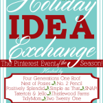 Announcing the Holiday Idea Exchange Pinterest Event!