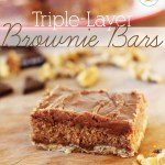 Triple-Layer Brownie Bars