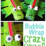Bubble Wrap Crocodile Craft