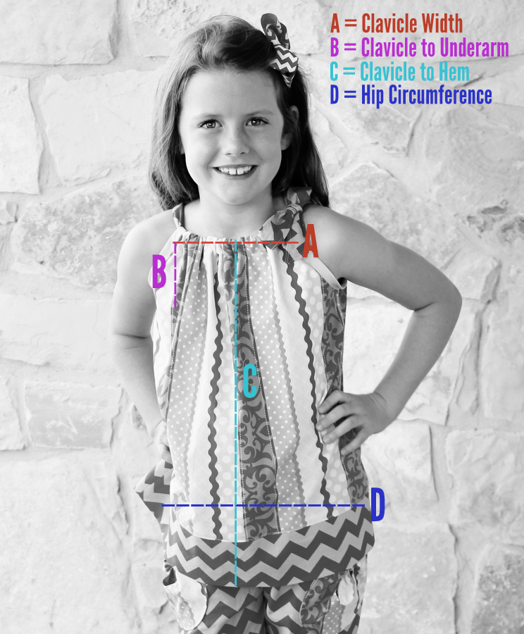 Free tutorial for how to draft patterns for and sew pillowcase dresses and tops. So easy to make and fun to wear!