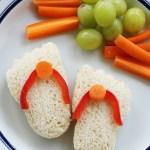 Flip Flop Mini Sandwiches