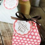 Free printables to package up sweet treats to show someone you care! #GiveBakery