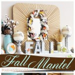 Fall Mantel Decorations #MichaelsMakers