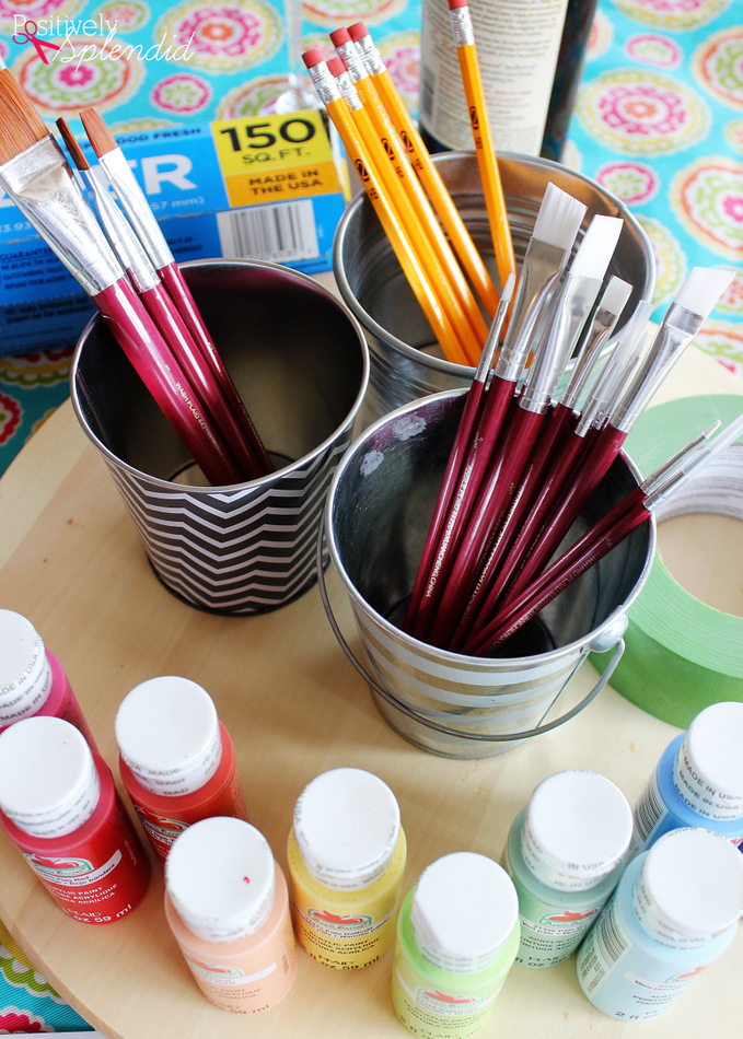 How to host a girls' night in painting party at home