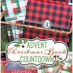 Advent Christmas Book Countdown + Free Printable Tags