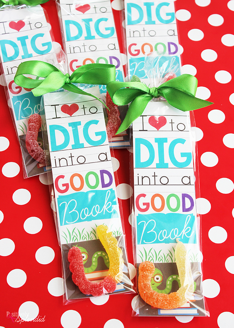 Valentine Bookmark Printable Just For Bookworms