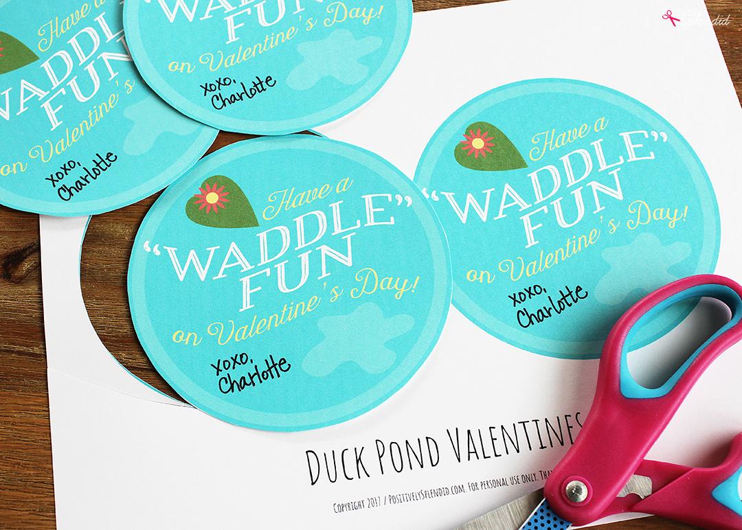 Rubber Duck Valentines