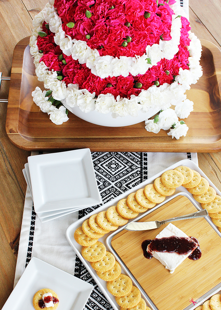 Tiered Bowl Floral Centerpiece - Easy to put together and perfect for showers, weddings, and more!