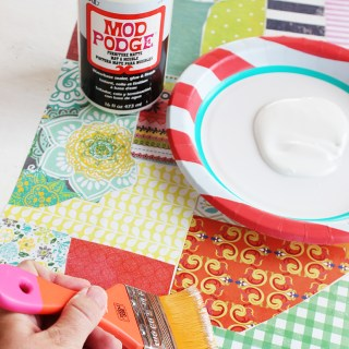 how to remove mod podge paper from wood