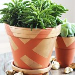 Diy Painted Terracotta Pots Easily Spruce Up Any Clay Pot With Paint
