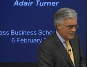 OVERT MONETARY FINANCING or 'Helicopter Money' Policies - Lord Turner is waking up?
