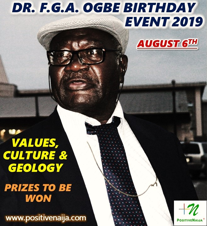 Dr. Freedom Griffith Akinjide Ogbe Event 2019