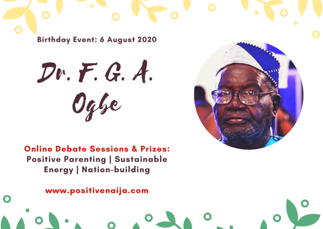 Dr. Freedom Griffith Akinjide Ogbe Birthday Event 2020 Debates