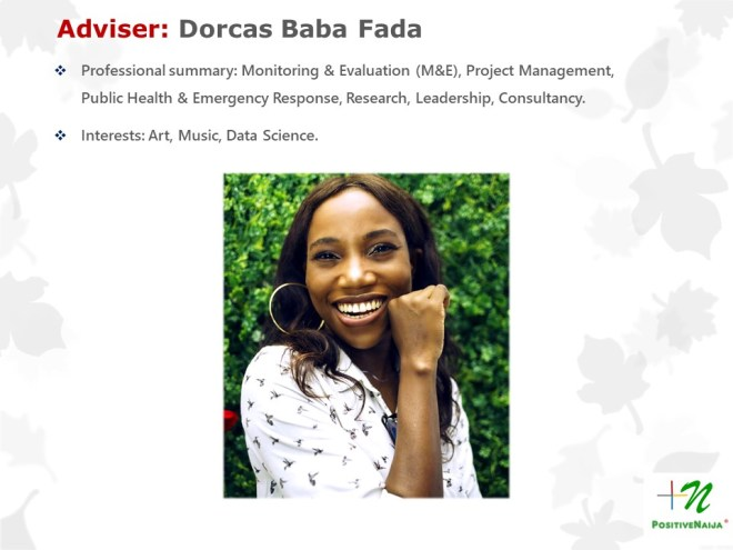 Dorcas Baba Fada - PositiveNaija