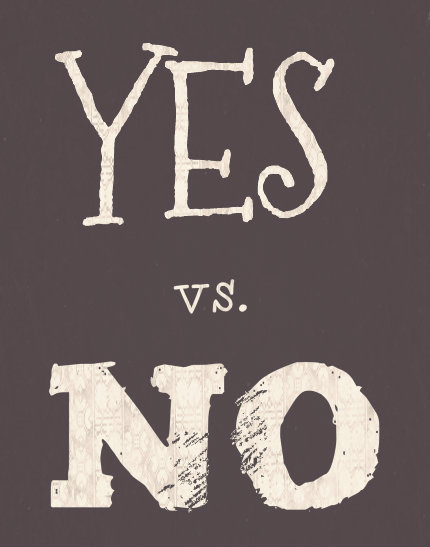 Saying Yes More than Saying No