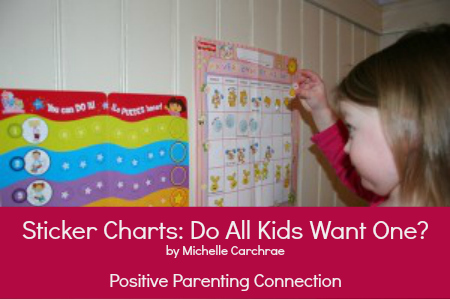 Sticker Charts: Do All Kids Want One?