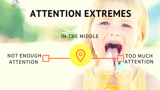 attention seeking behavior from child
