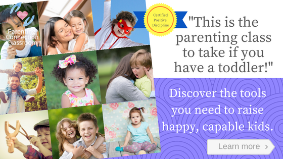 parenting toddlers discipline online class
