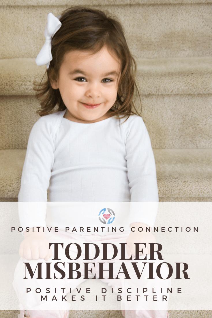 Toddler Misbehavior Improves With Positive Discipline