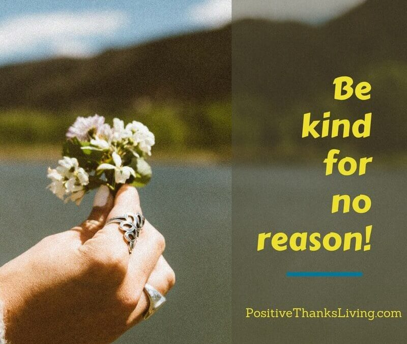 Be kind for no reason - get 25 ideas