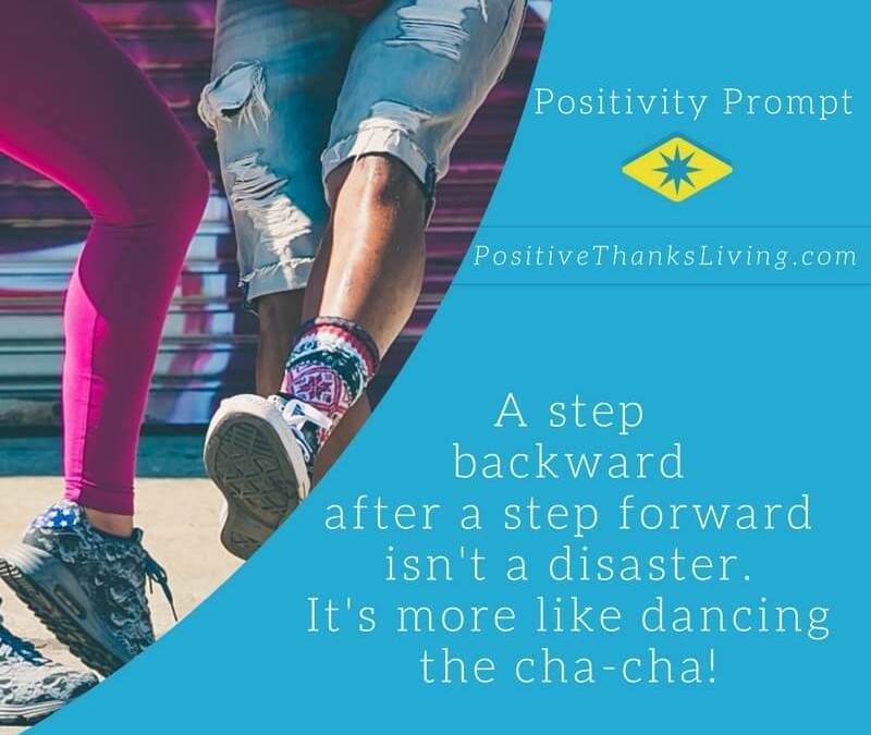 Step Backward – Step Forward