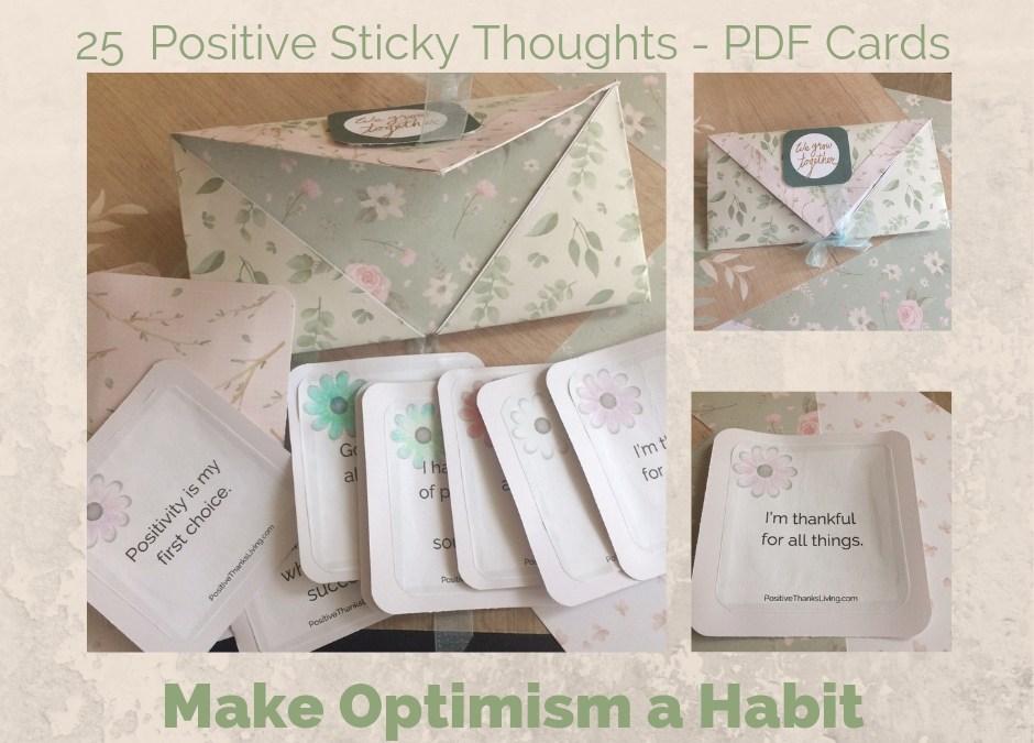 Make Optimism a Habit
