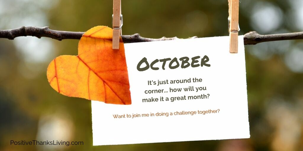 October Invitation to Challenge Yourself