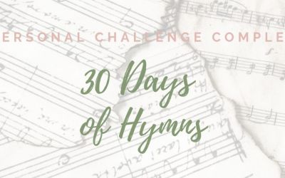 30 Days of Hymns