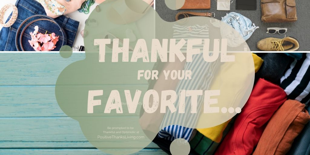 Thankful for your favorite…